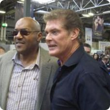 David Hasselhoff and Ken Foree